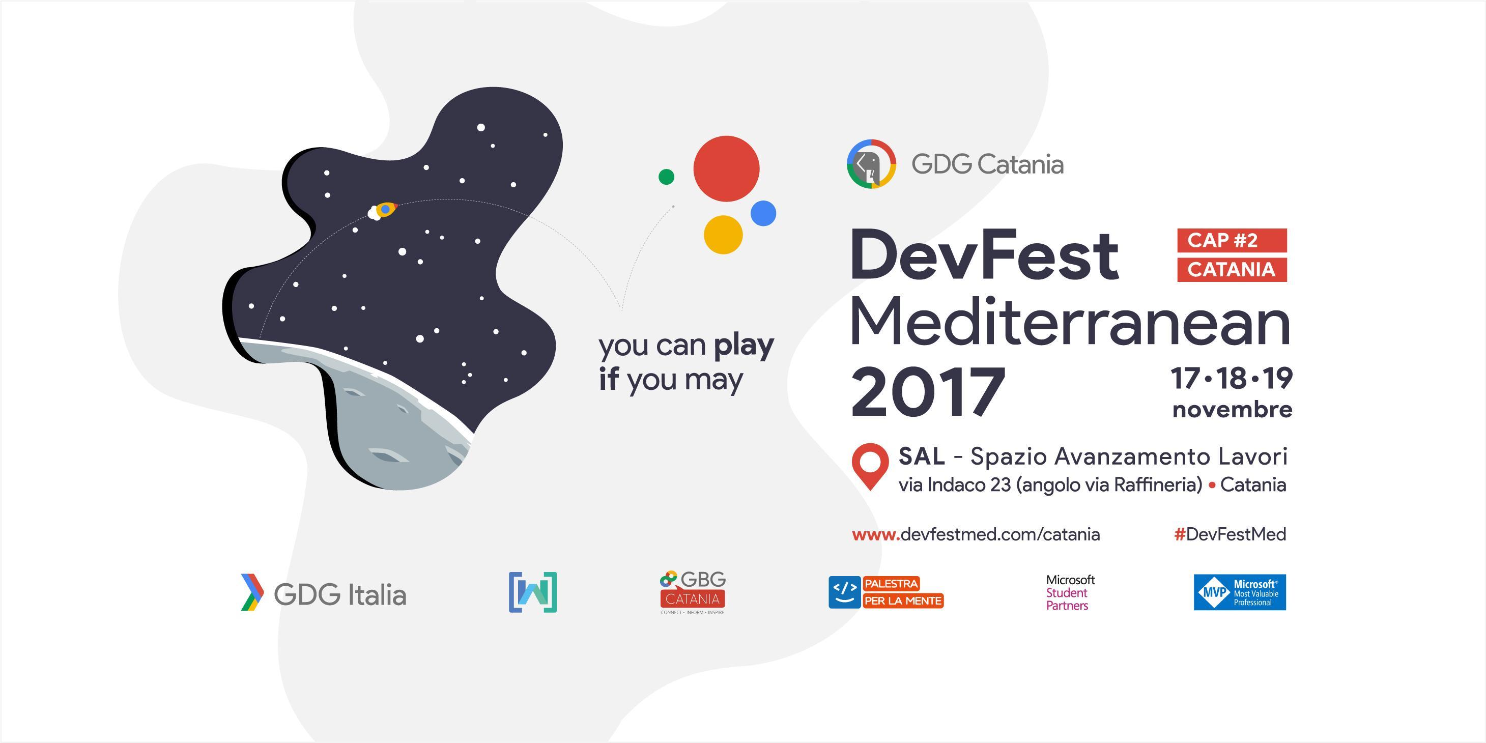 DevFest Mediterranean 2017 Cap II