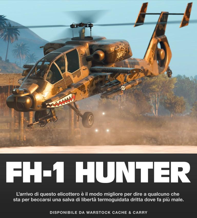 GTA Online Heli Hunter