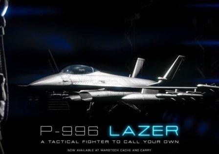 GTA Online P996 Lazer