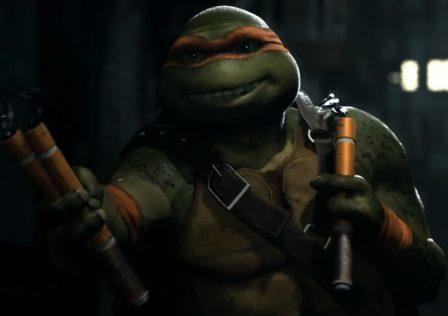 Injustice 2 Ninja Turtles
