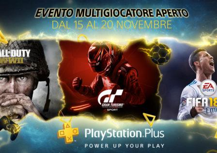 PS Plus – Evento Multigiocatore Aperto