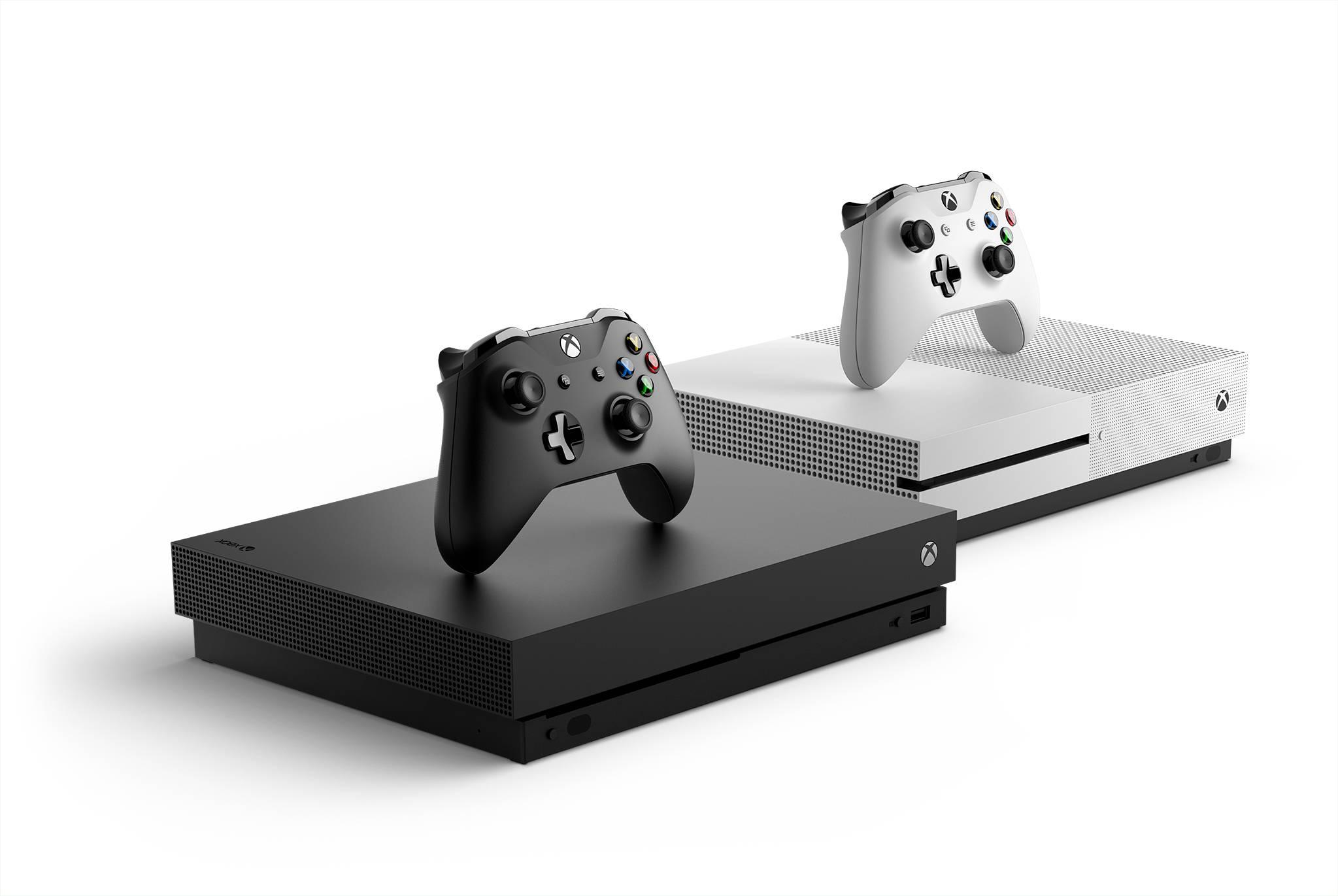 Xbox One X guida la famiglia delle console Microsoft di ultima generazione