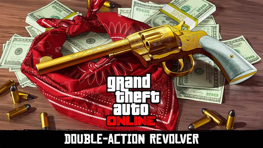 GTA Online Double Action Revolver