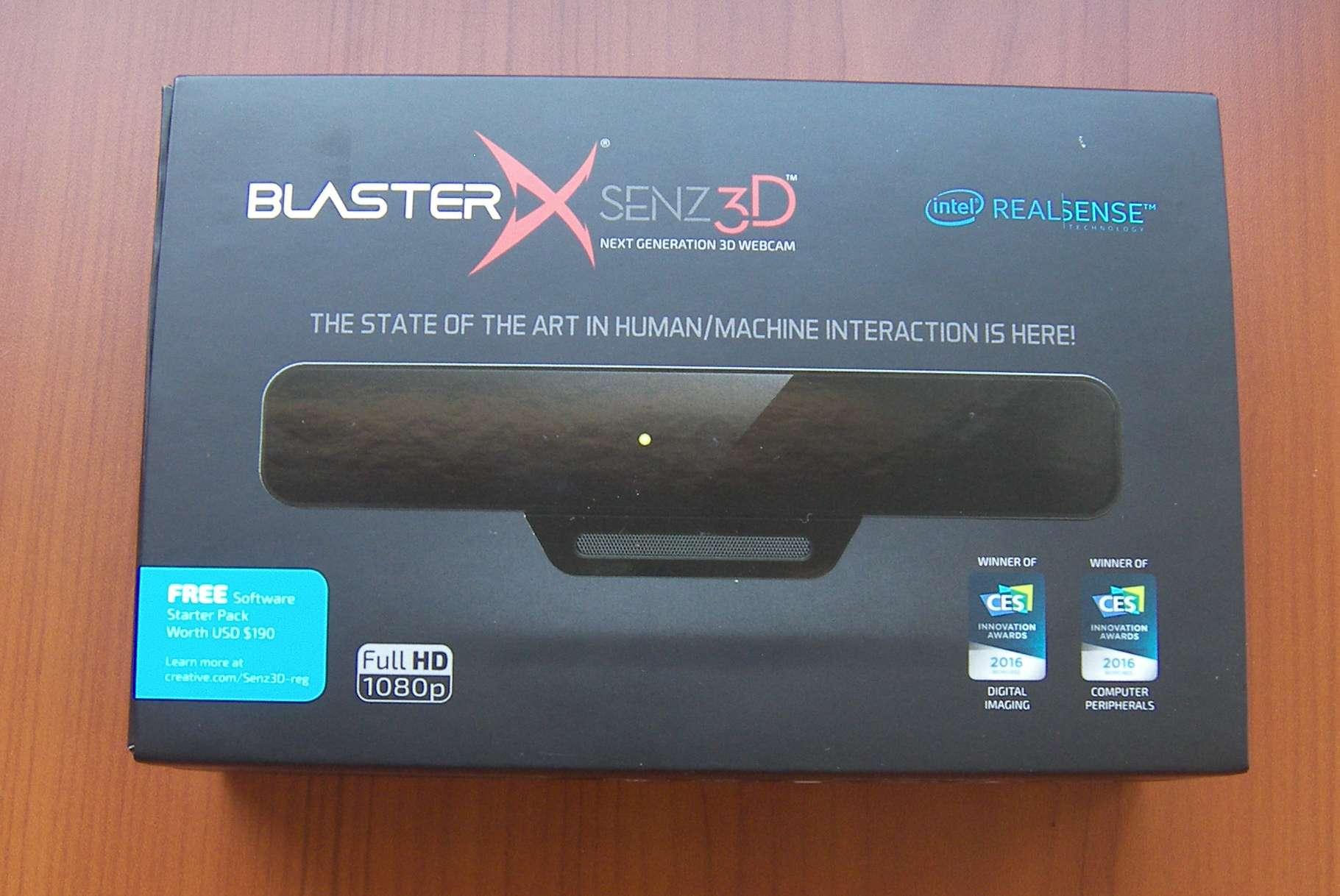 Creative-BlasterX-Senz3D Confezione