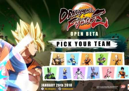 Dragon Ball FighterZ Open Beta Roster