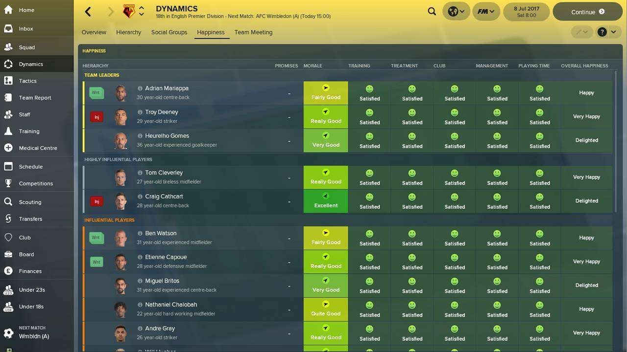 Football Manager 2018 B