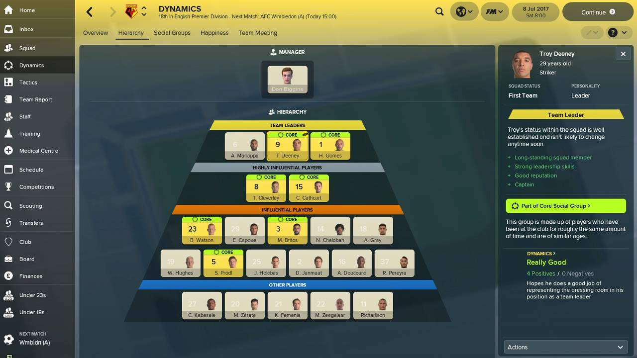 Football Manager 2018 L