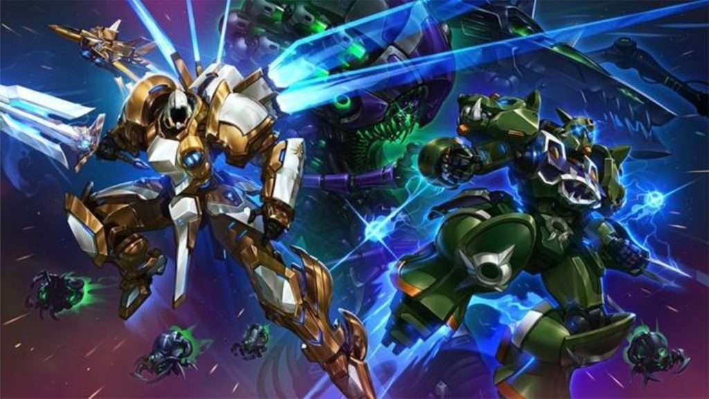 Heroes of the storm Mech Update