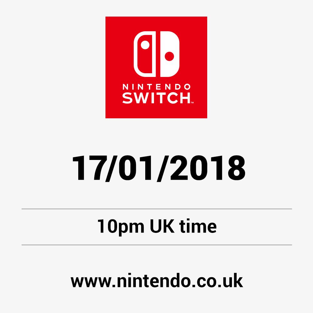 Nintendo switch 170118