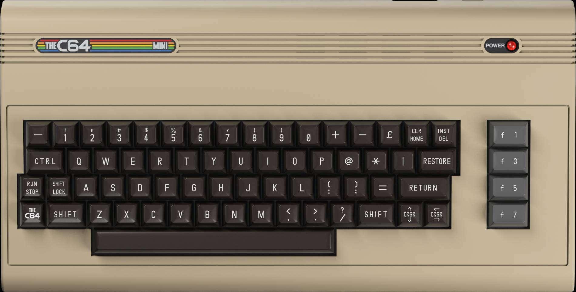 THEC64 Mini, nuovo firmware disponibile