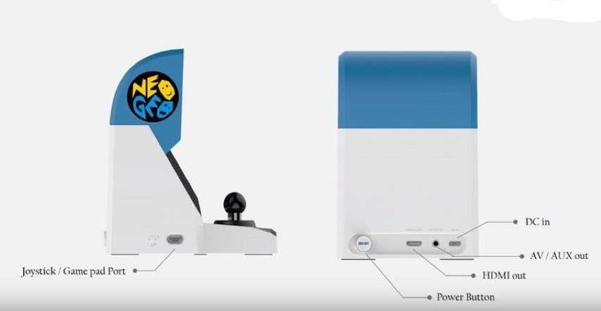 Ecco i primi dettagli sul Neo Geo Mini: sarà un mini cabinato