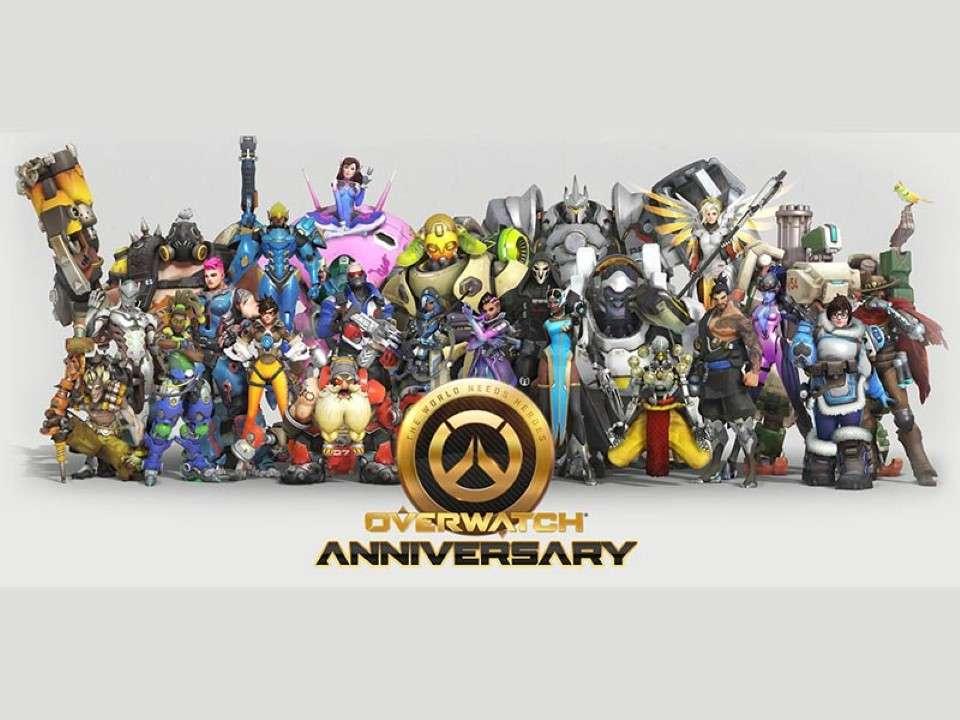 Overwatch si appresta a festeggiare l'anniversario