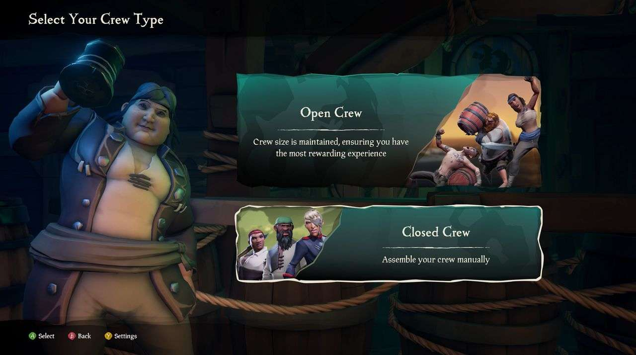 Sea of Thieves, pubblicata la patch che introduce le ciurme private