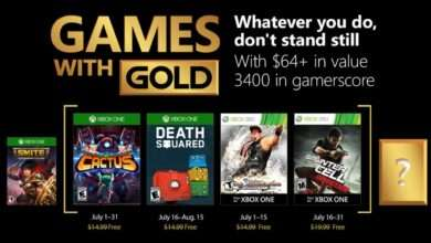 games with gold luglio 2018