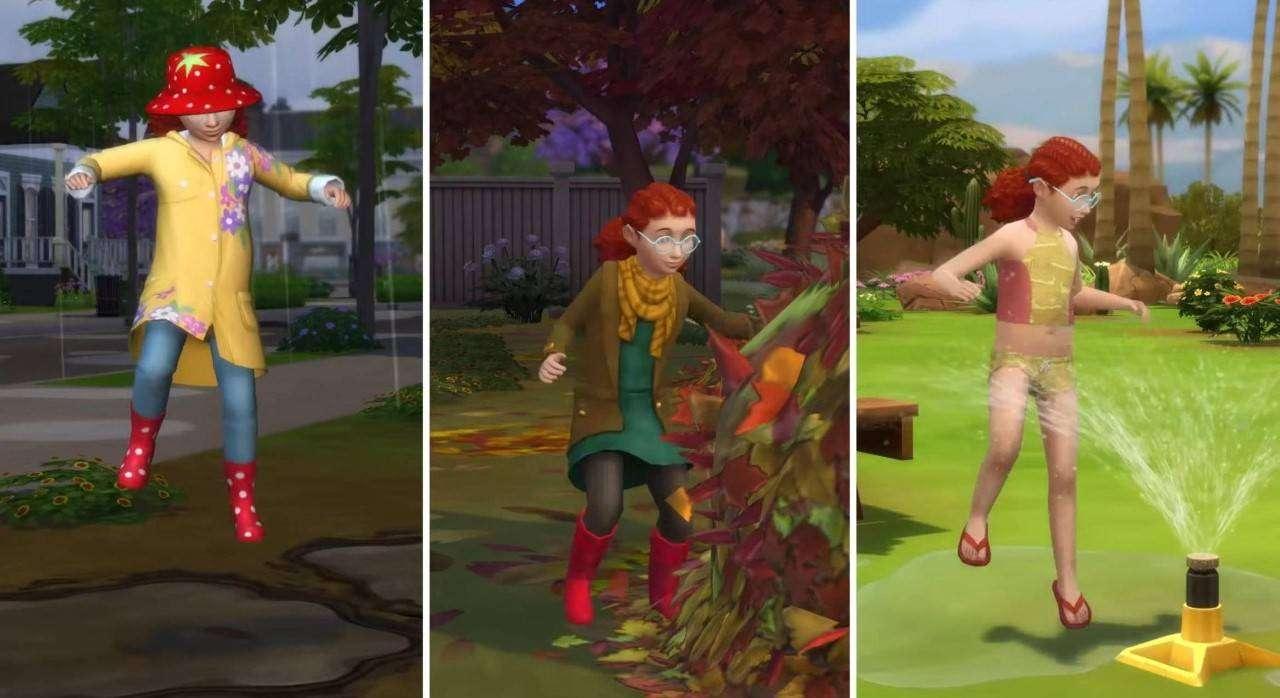 The Sims 4 Ecco Lespansione Season Cellicomsoft F496 Gpd Xd Universal Simulator Android Games 32gb Il Meteo E I Suoi Effetti