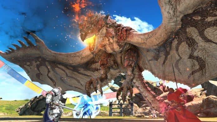Inizia oggi la collaborazione fra Final Fantasy XIV Online e Monster Hunter World