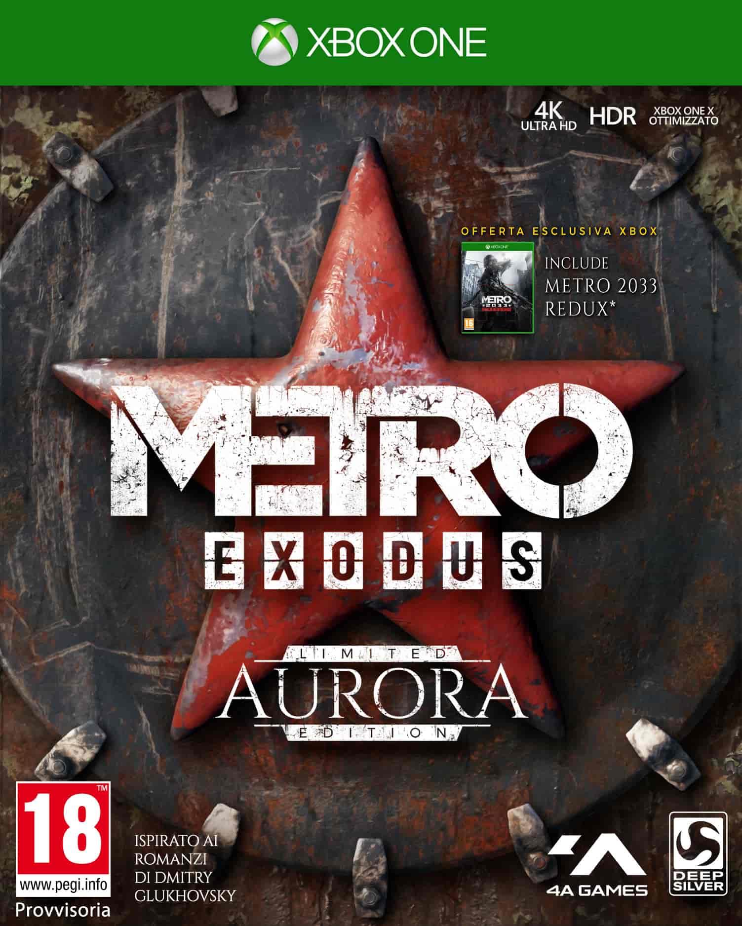 Metro Exodus: rivelata l'Aurora Limited Edition ed i bouns preorder