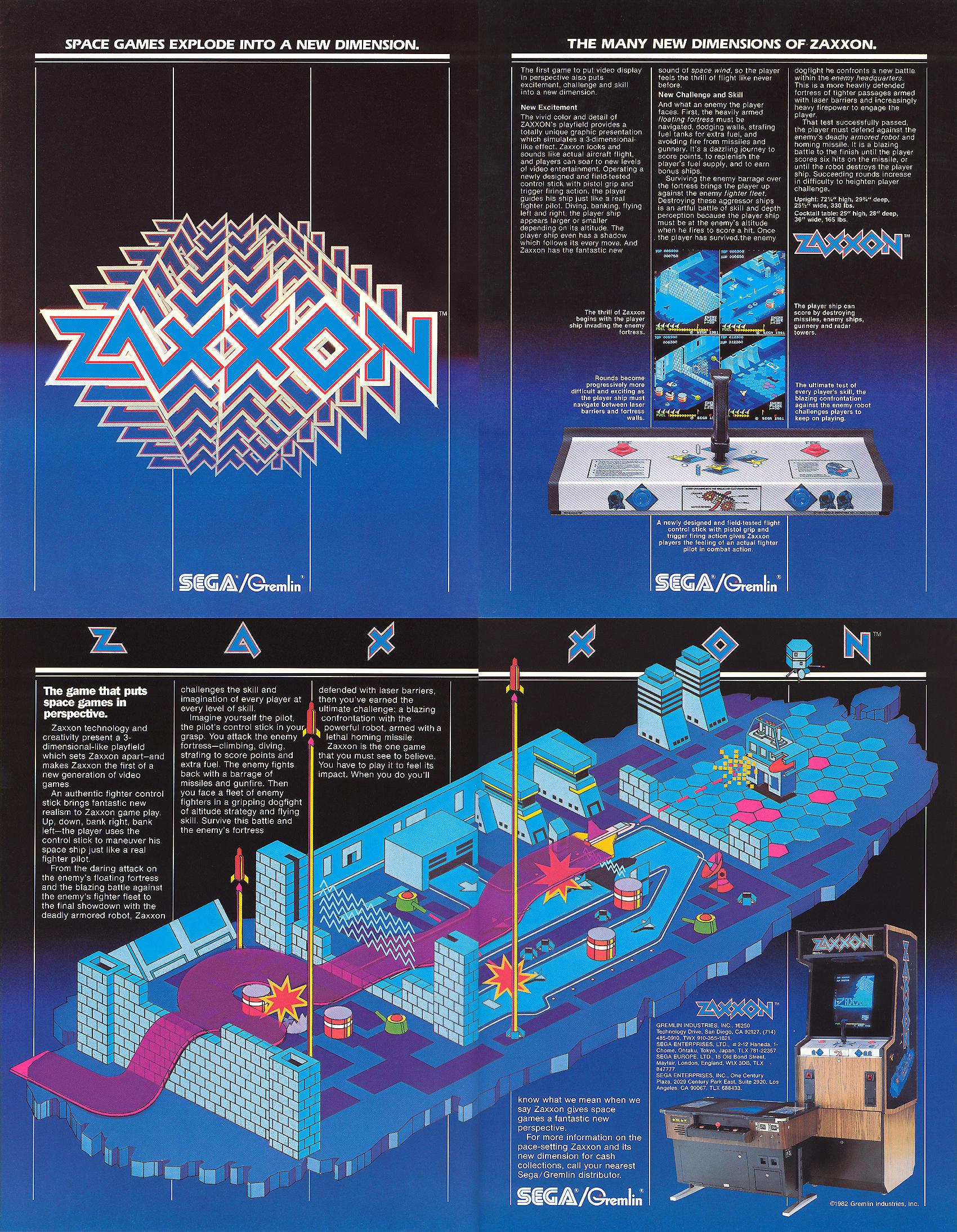 premium selection 3b1f9 bdbf7 Nonostante i quasi 40 anni trascorsi dalla sua pubblicazione, Zaxxon  conserva ancor oggi un enorme fascino che lascia intravedere l impatto  deflagrante del ...