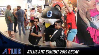 Atlus Art Exhibit 2019