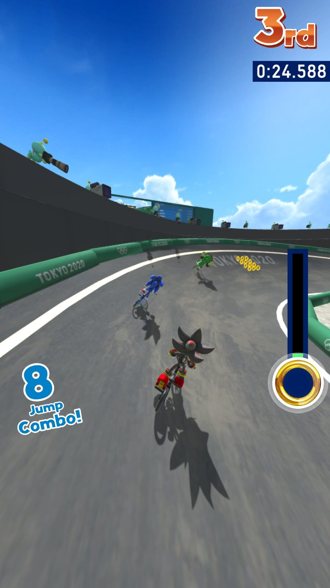 Sonic ai Giochi Olimpici di Tokyo 2020