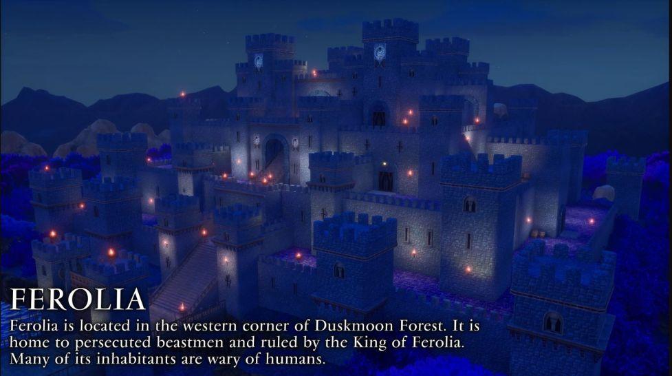 Trials of Mana - Ferolia