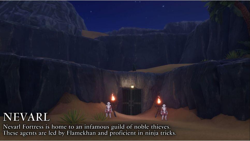 Trials of Mana - Nevarl