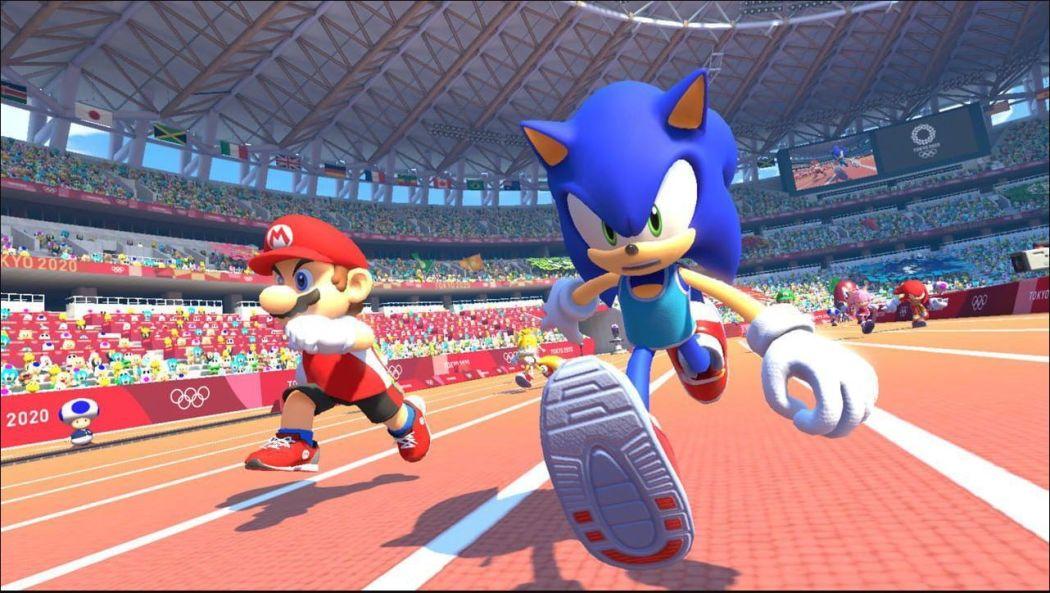 Sonic ai Giochi Olimpici - Tokyo 2020