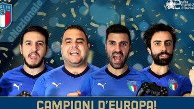 italia eEuro2020 campione europa