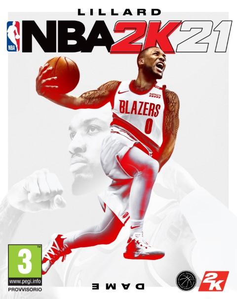 NBA 2K21, Damian Lillard uomo copertina console - IlVideogioco.com