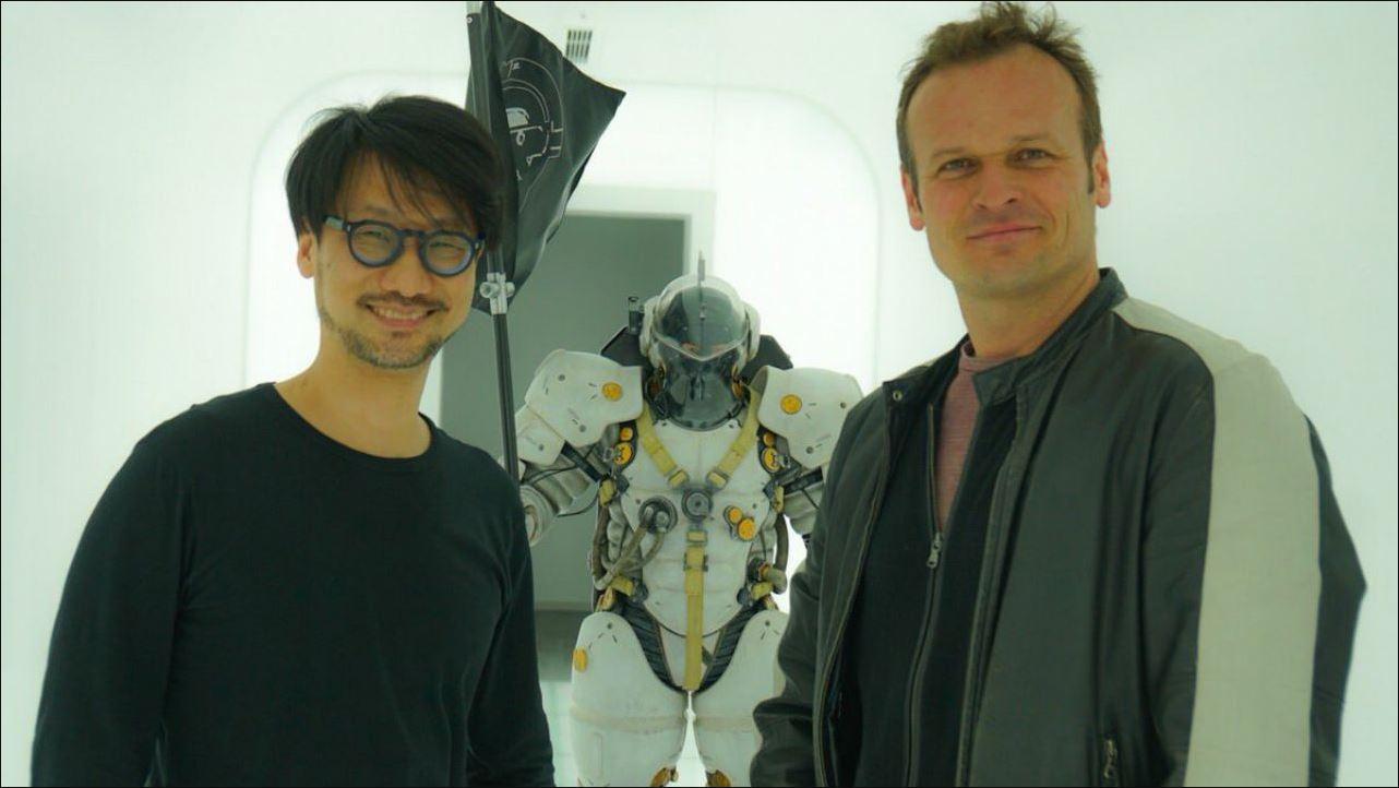 Hideo Kojima e Hermen Hulst
