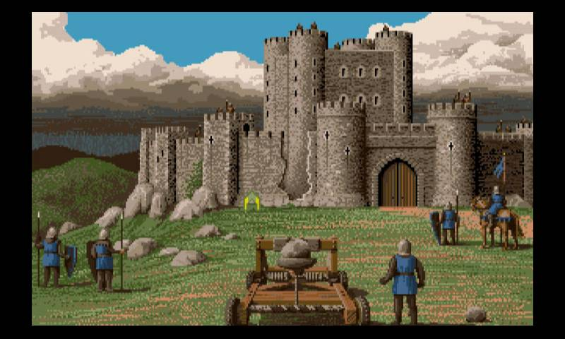 Defender of the Crown amiga