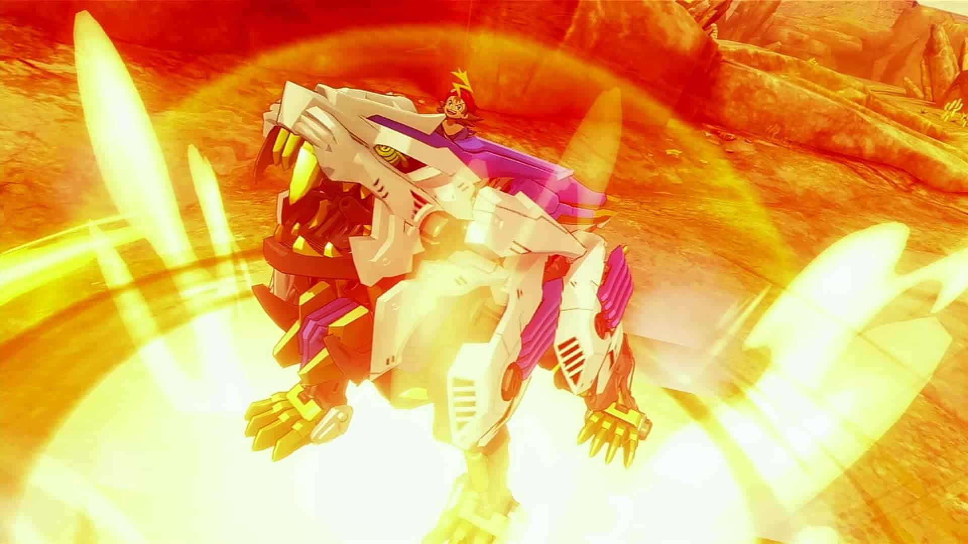 Zoids Wild: Blast Unleashed arriva in esclusiva Switch - IlVideogioco.com