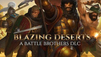 Blazing Deserts