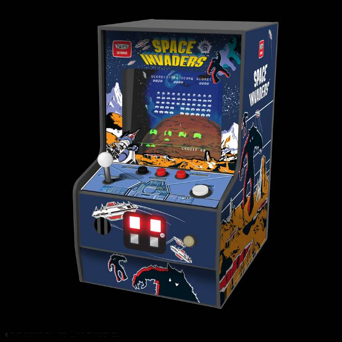 Space Invaders Micro Player B