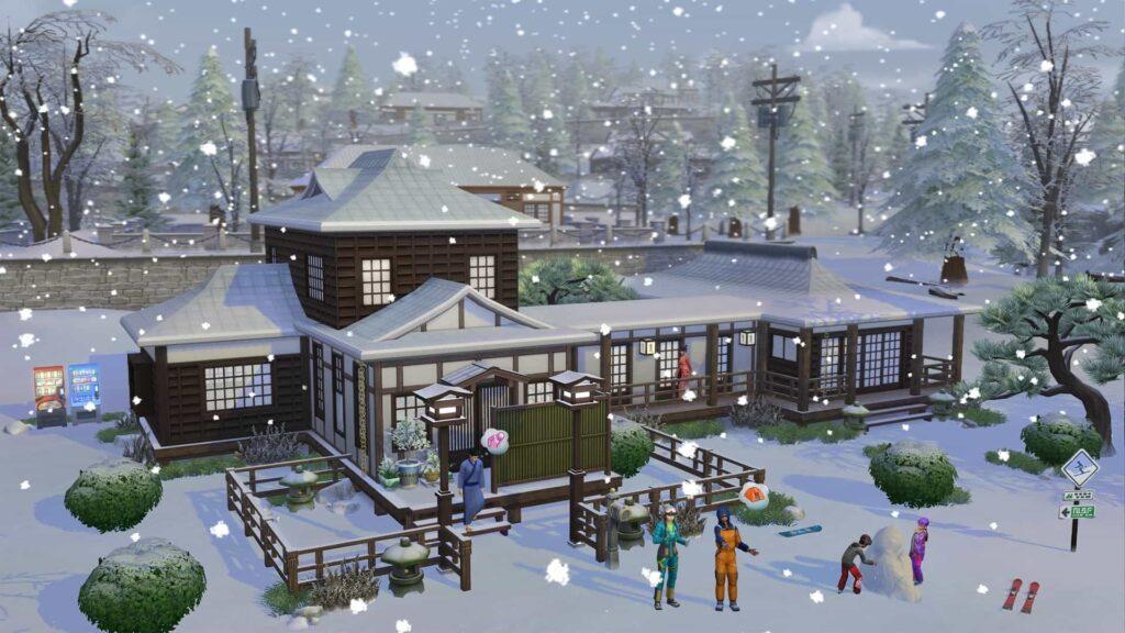 The Sims 4 Oasi Innevata