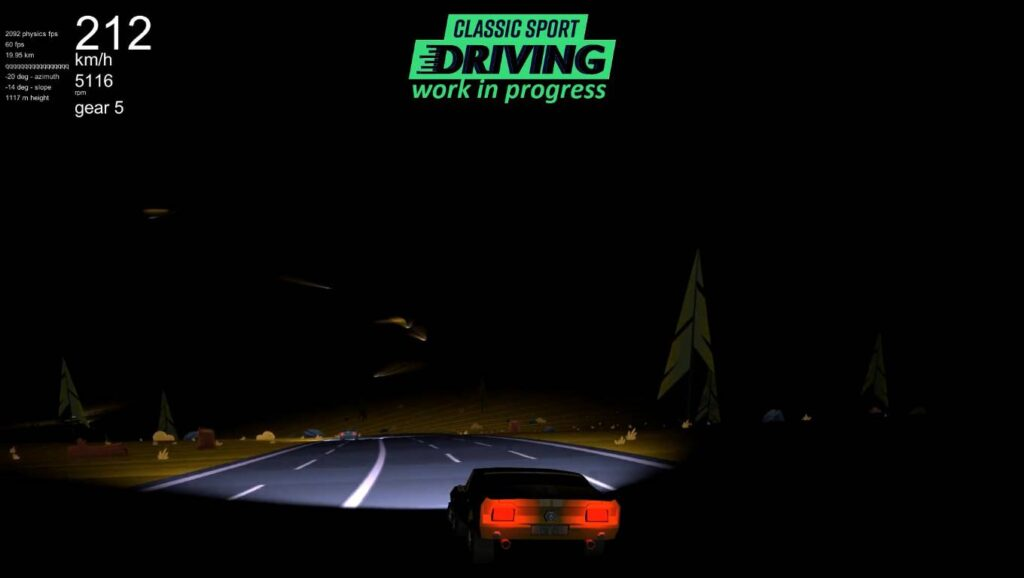 Classic Sport Driving