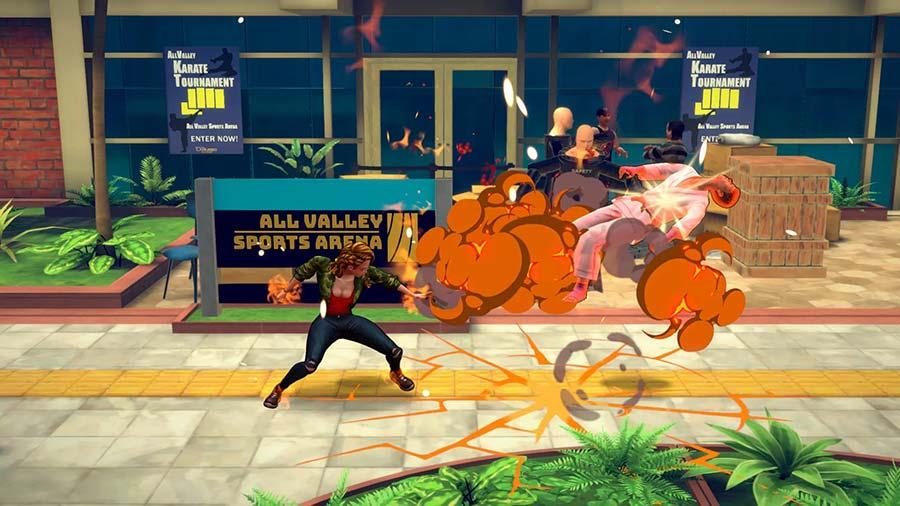 cobra kai the karate kid saga recensione ps4