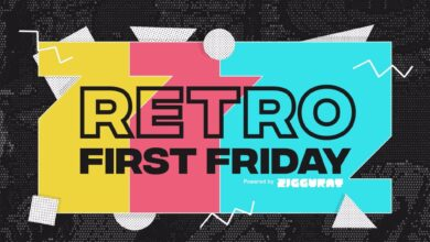 Retro First Friday