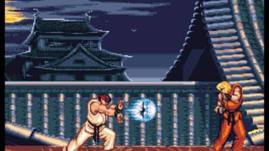 Street Fighter 2 demo