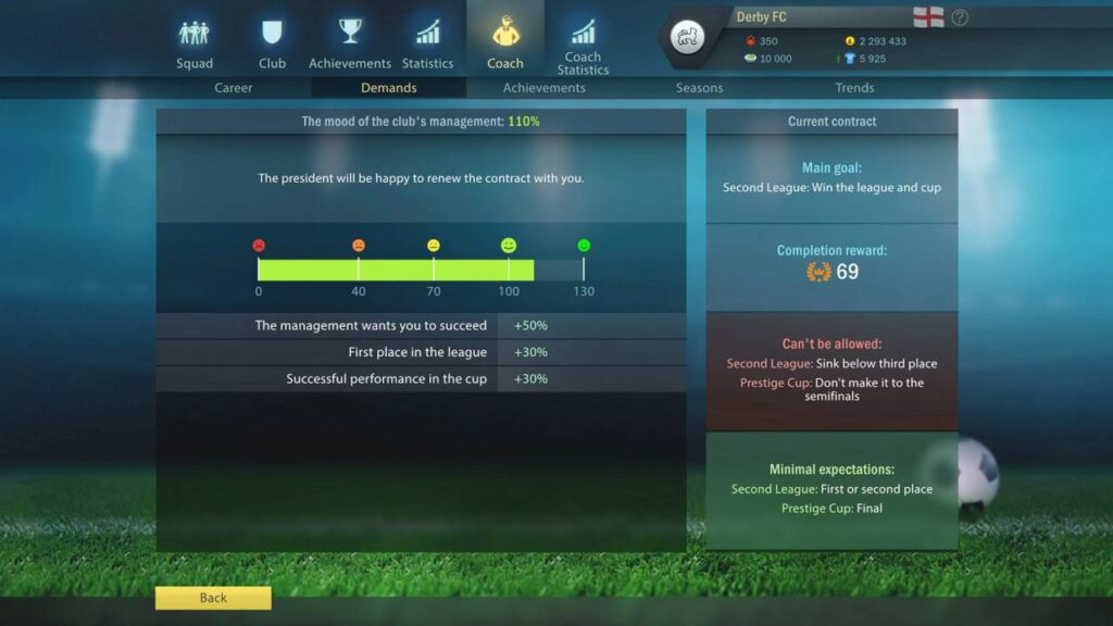 Football Tactics Glory Manager's Journey